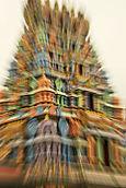 Hindu Temple, zoomed