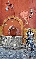 Bike and Fountain*