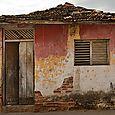 Sagging house door