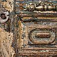 Crooked door handle