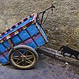 Colorful cart