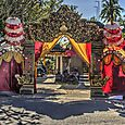 Ornate entry