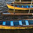 Boats at Lake Beratan 2