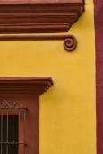 Doorway and pediment