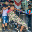 Busy barbers