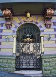 Doorway with face