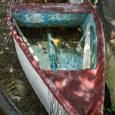 Reddish boat