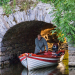 Returning rental boat at Ross Castle