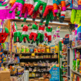 Pinatas and groceries