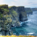 The famous cliffs of Moher.