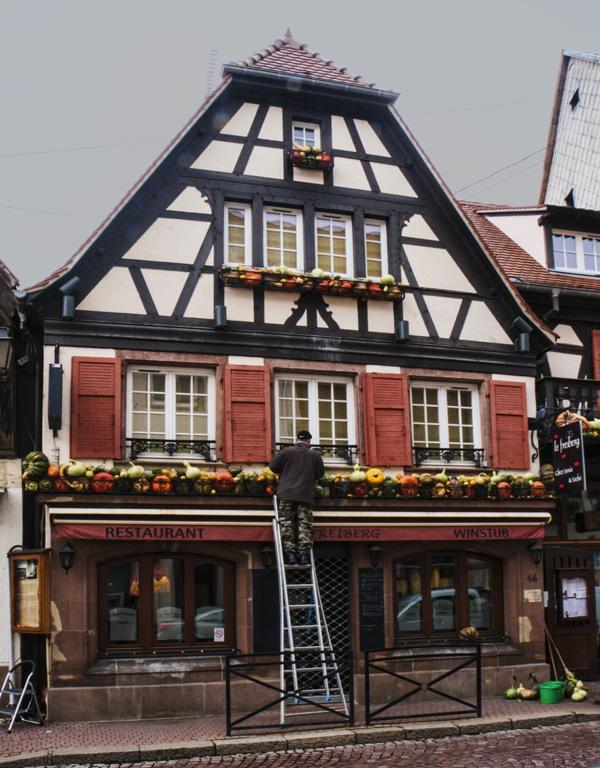 Halloween in Obernai