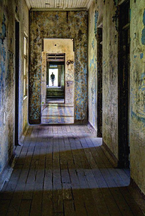 Hallway in the Duran Sanitarium