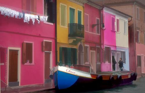 Burano in Pastels