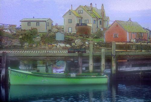 Green Boat #2*
