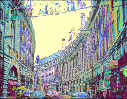 Picadilly, transformed