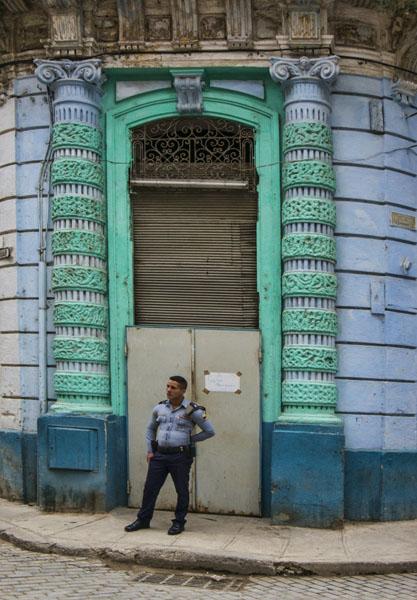 Havana cop