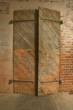 Doors at Fort Point