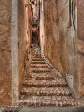 Rousillon stairway