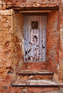 Roussillon Doorway