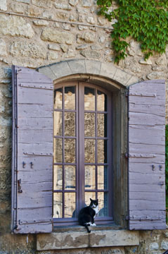 Saignon Window