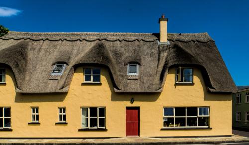 Yellow House Red Door