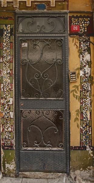 Door with bell