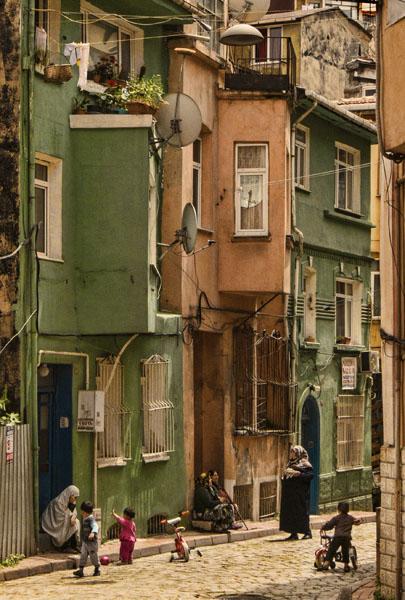 Balat Street scene