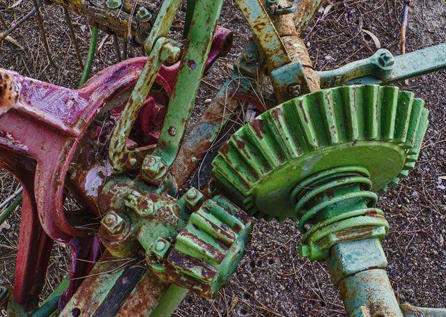 Green gears