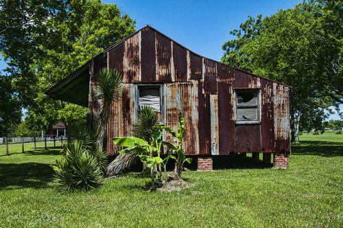 Laura Plantation shack