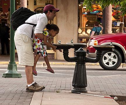 Drinking fountain