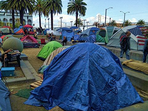 Occupy with bridge