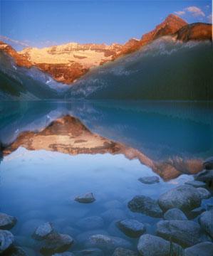 Lake Louise at dawn*