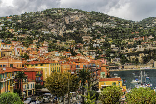View of Villefranche