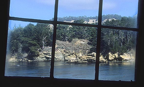 View from Whaler's Cabin
