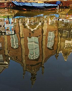 Amsterdam - Reflected church