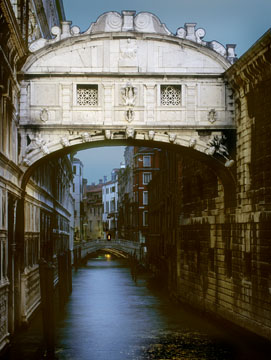 Bridge of Sighs at Dawn
