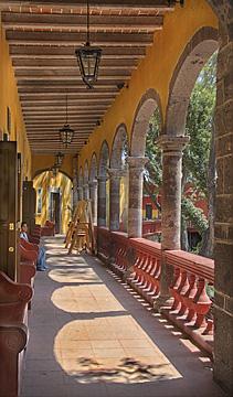 Casa de la Cultura in the Afternoon