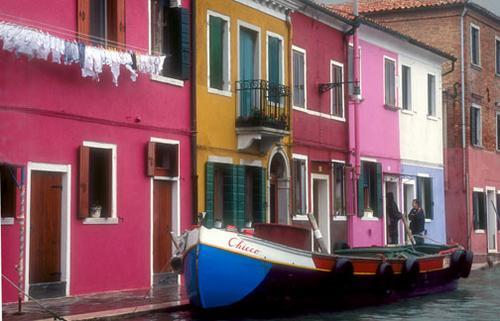 Boat in Burano, 2*