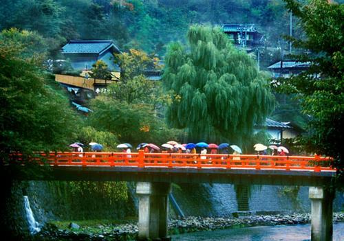 Bridge in Takayama